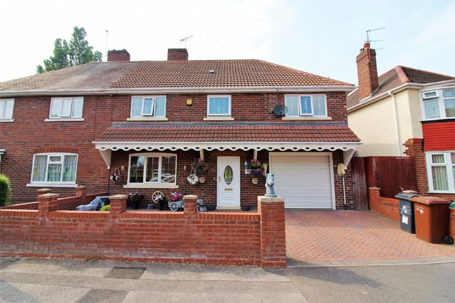 Thumbnail Semi-detached house for sale in Victory Avenue, Darlaston, Wednesbury