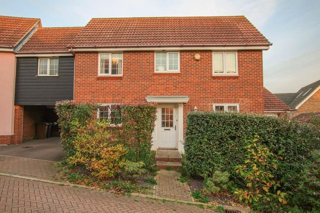 Thumbnail Link-detached house for sale in Billings Close, Haverhill