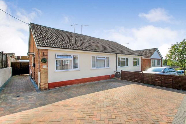 2 bed semi-detached bungalow to rent in Wharf Road, Higham Ferrers, Northamptonshire NN10
