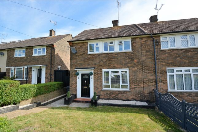 Thumbnail Terraced house for sale in Carpenter Path, Brentwood