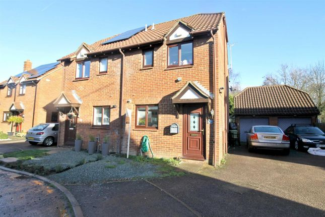 Thumbnail Semi-detached house to rent in Carteret Close, Willen, Milton Keynes