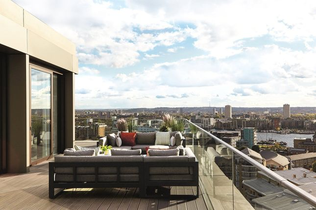 Thumbnail Flat for sale in The Ariel Penthouse, London Dock, Wapping