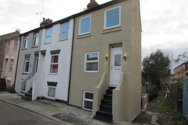 Thumbnail End terrace house to rent in Talbot Street, Harwich