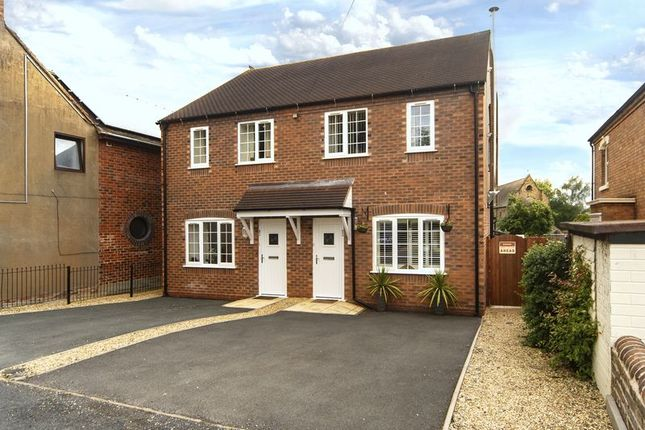 Thumbnail Semi-detached house for sale in Burnt Hall Lane, Madeley, Telford, Shropshire.