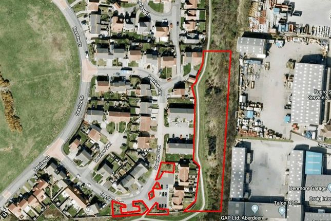 Thumbnail Land for sale in Area At Seaview Drive, Aberdeen AB238Rg
