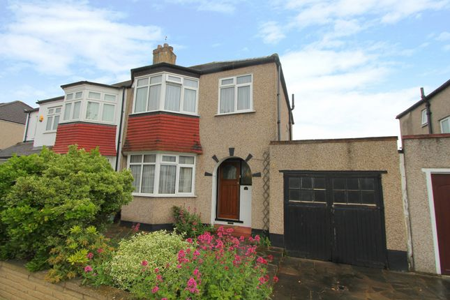 Thumbnail Semi-detached house for sale in Raleigh Avenue, Wallington