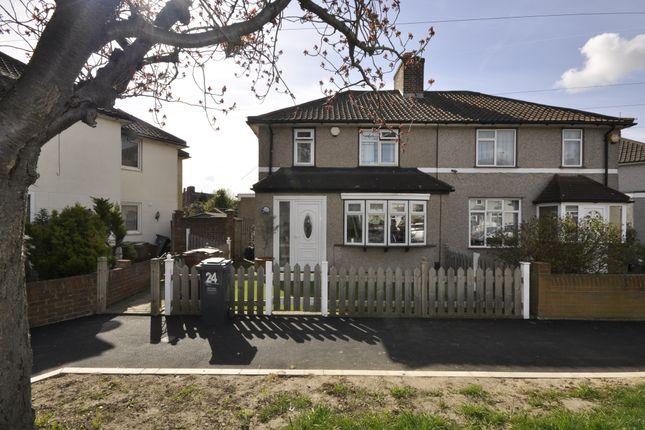 Thumbnail Semi-detached house for sale in Fanshawe Crescent, Dagenham