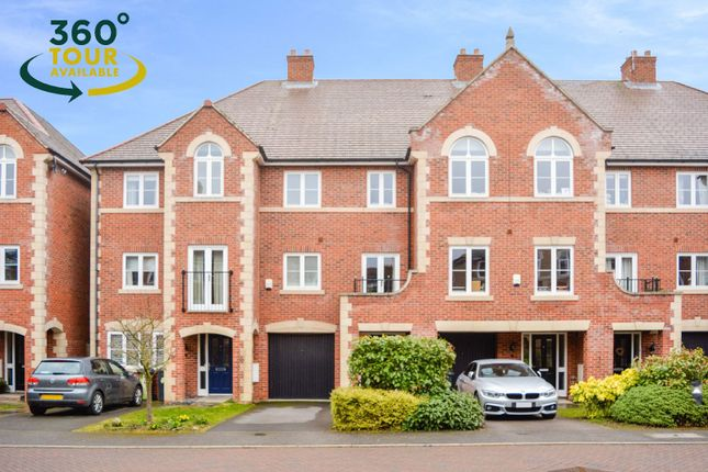Thumbnail Town house for sale in Elm Tree Gardens, Stoneygate, Leicester