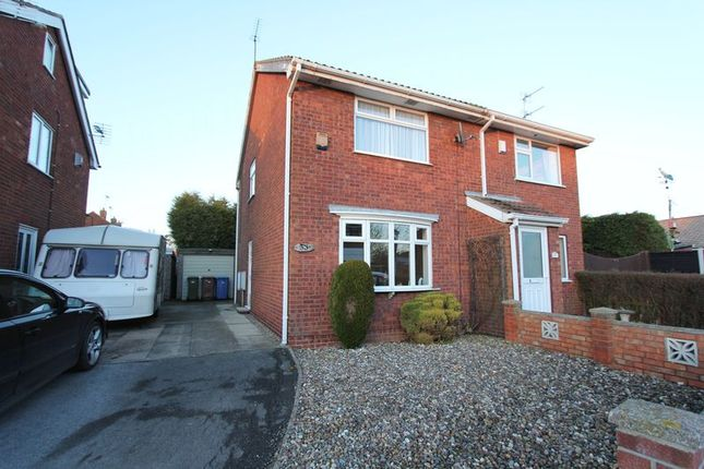 Thumbnail Semi-detached house to rent in Beech Avenue, Thorngumbald, Hull