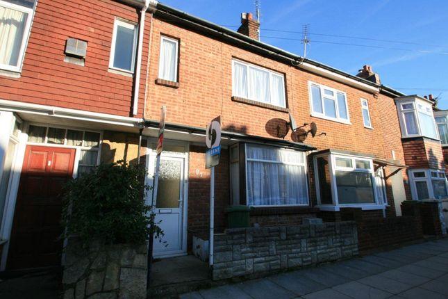 Thumbnail Terraced house to rent in Bramshott Road, Southsea