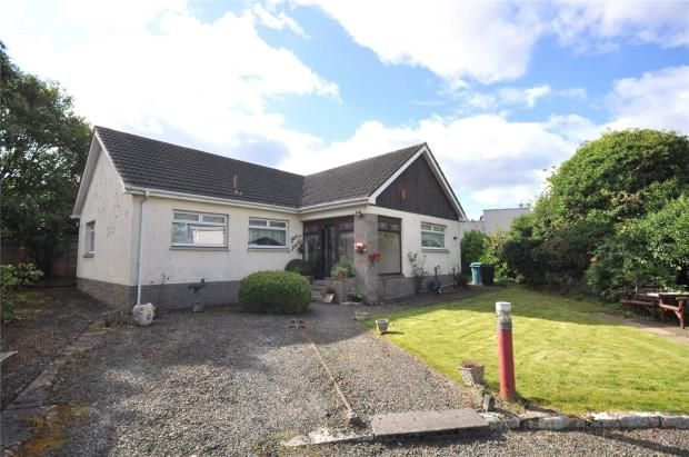 Thumbnail Detached bungalow for sale in Jerviston Street, New Stevenston, North Lanarkshire