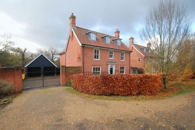 Thumbnail Detached house to rent in Julian Drive, Trowse, Norwich