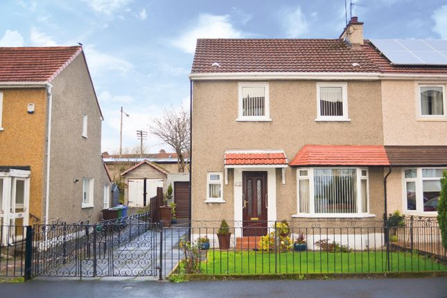 Thumbnail Semi-detached house for sale in Seil Drive, Simshill, Glasgow