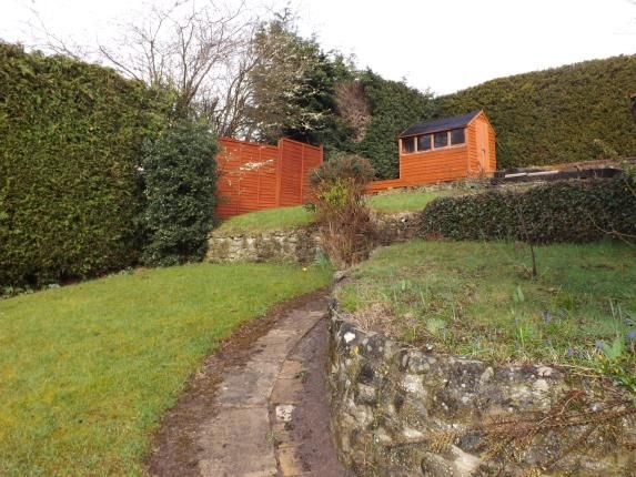 Garden of Pleydell Road, Old Town, Swindon, Wiltshire SN1