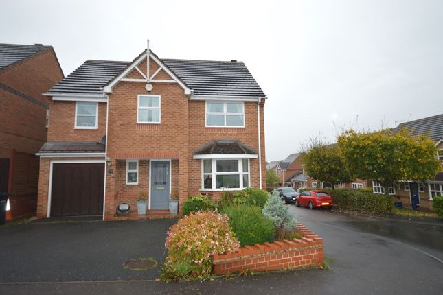 Thumbnail Detached house to rent in Isaacs Way, Droitwich