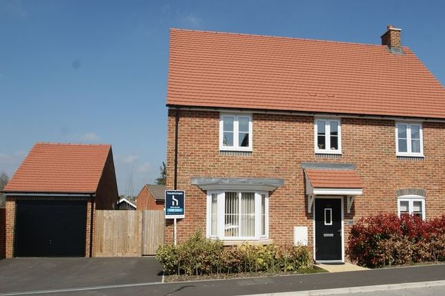 Thumbnail Detached house for sale in Locksbridge Road, Picket Piece, Andover
