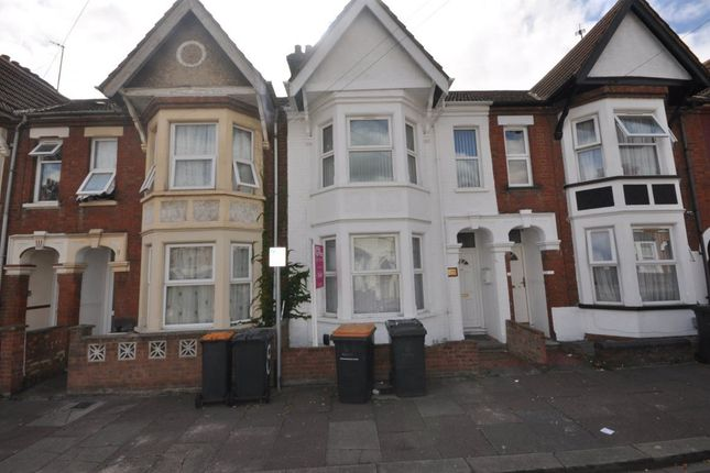 Thumbnail Terraced house to rent in Aspley Road, Bedford