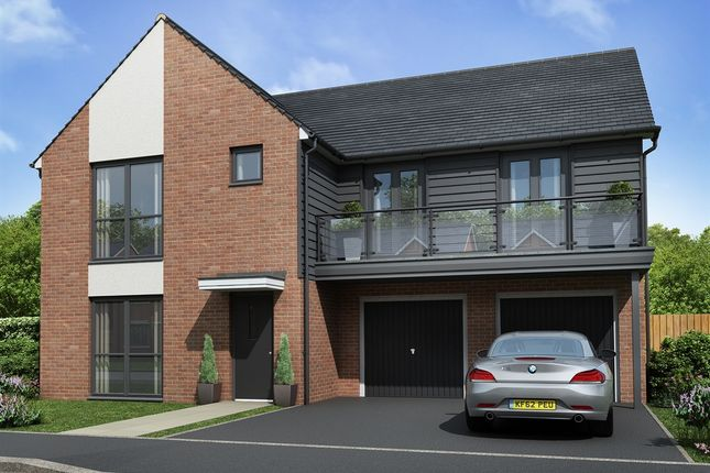 "Thumbnail Detached house for sale in ""The Turner "" at Sir Bobby Robson Way, Newcastle Upon Tyne"