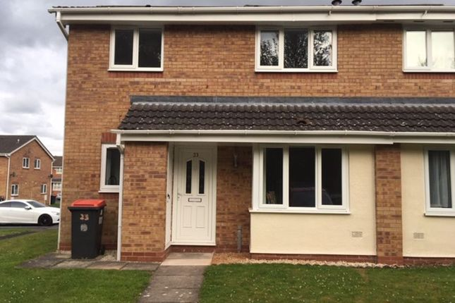 Thumbnail Terraced house to rent in Midland Court, Stanier Drive, Madeley, Telford