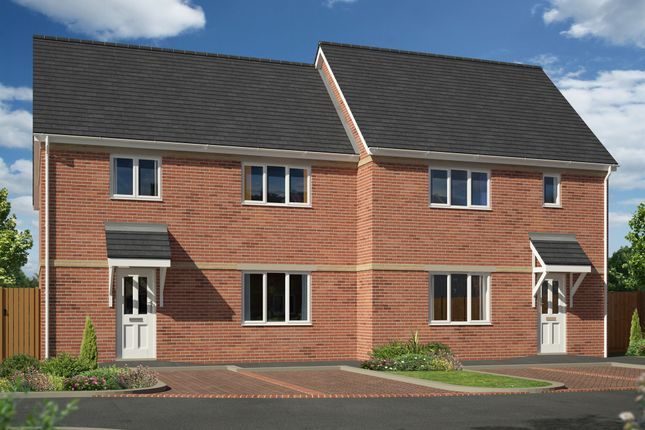 Thumbnail Semi-detached house for sale in Margaret Close, Thurmaston, Leicester