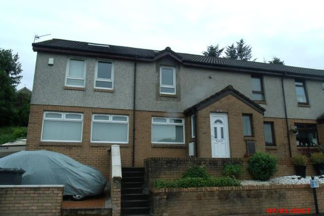 Thumbnail End terrace house to rent in Antonine Gardens, Duntocher, Clydebank