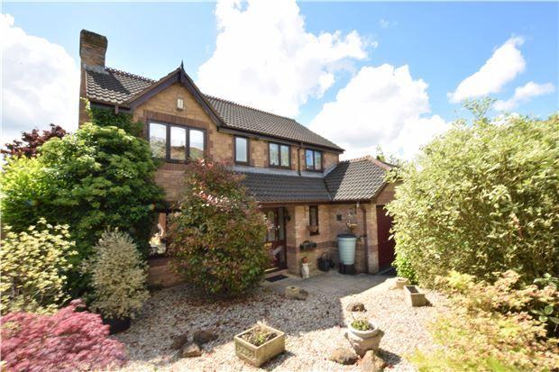 Thumbnail Detached house for sale in Underleaf Way, Peasedown St. John