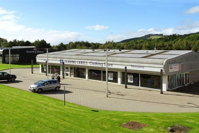 Thumbnail Commercial property to let in Retail Warehouse/ Trade Counter Unit, Selkirk Retail Park, Dunsdalehaugh, Selkirk, Scottish Borders