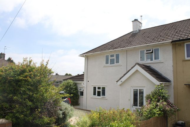 Thumbnail Semi-detached house to rent in Bishop Manor Road, Horfield, Bristol