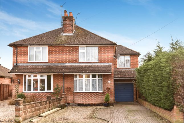 Thumbnail Semi-detached house for sale in Florence Road, College Town, Sandhurst, Berkshire