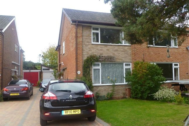 Thumbnail Semi-detached house to rent in Castor Court, Yateley