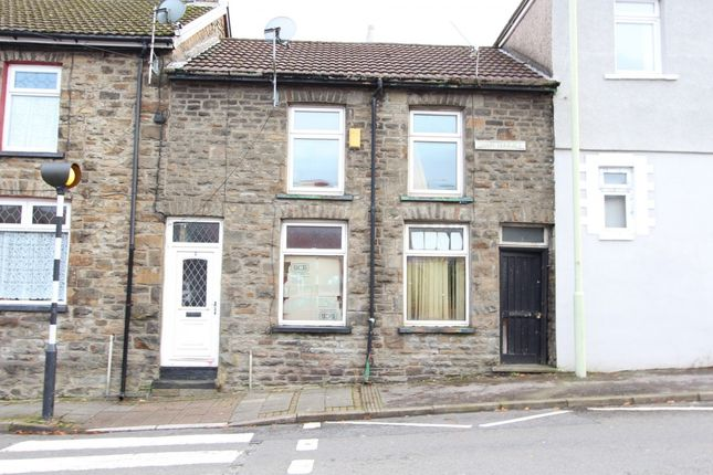 1 bed terraced house for sale in Swan Terrace, Penygraig, Tonypandy CF40