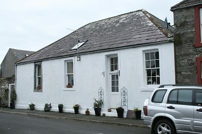 Thumbnail End terrace house for sale in 14 Cowgate, Garlieston