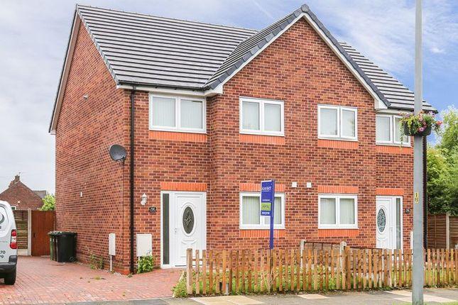Thumbnail Semi-detached house to rent in Kitt Green Road, Wigan