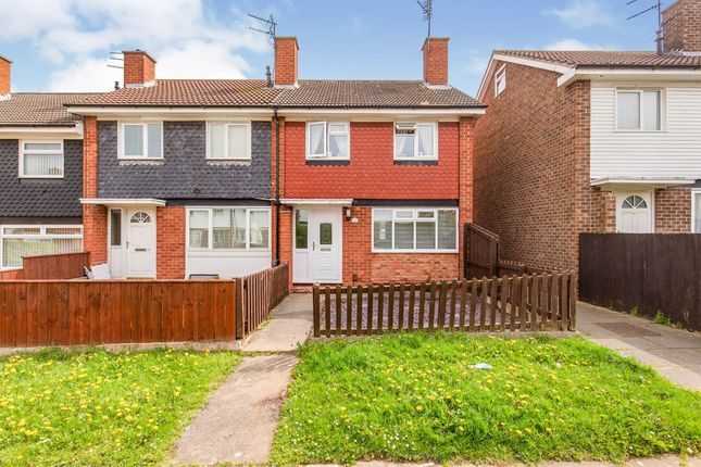 Thumbnail End terrace house for sale in Staveley Walk, Ormesby, Middlesbrough