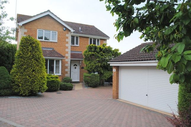 Thumbnail Detached house for sale in Brooke Close, Rushden