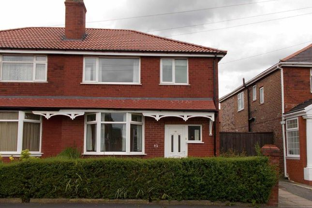 Thumbnail Semi-detached house to rent in Elsdon Road, Manchester