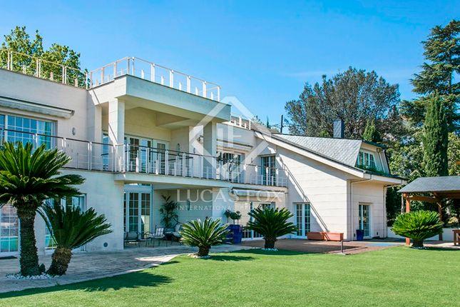 Thumbnail Villa for sale in Spain, Barcelona, Sant Cugat / Valldoreix, Bcn5743