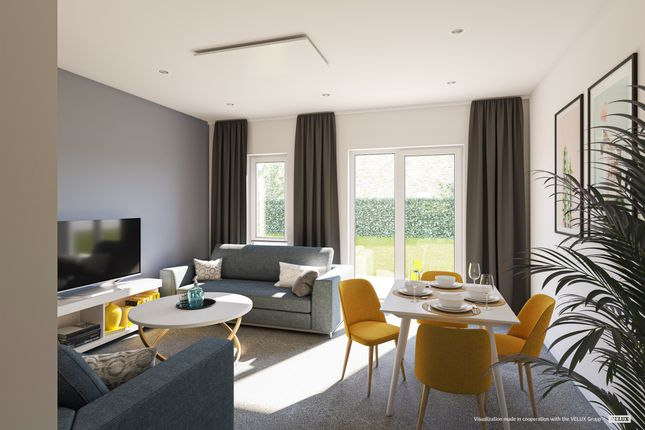 Thumbnail End terrace house for sale in Heritage Way, Gosport
