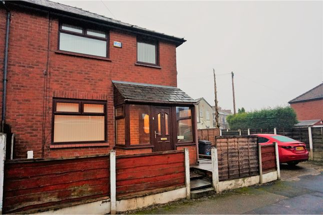 Thumbnail End terrace house to rent in Henley Street, Chadderton