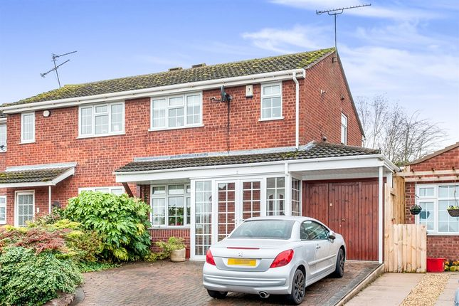 Thumbnail Semi-detached house for sale in Ryefields, Bishops Tachbrook, Leamington Spa