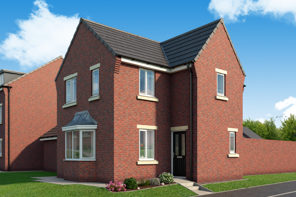 """Thumbnail Property for sale in """"The Canterbury At Derwent Heights, Dunston"""" at Ravensworth Road, Dunston, Gateshead"""