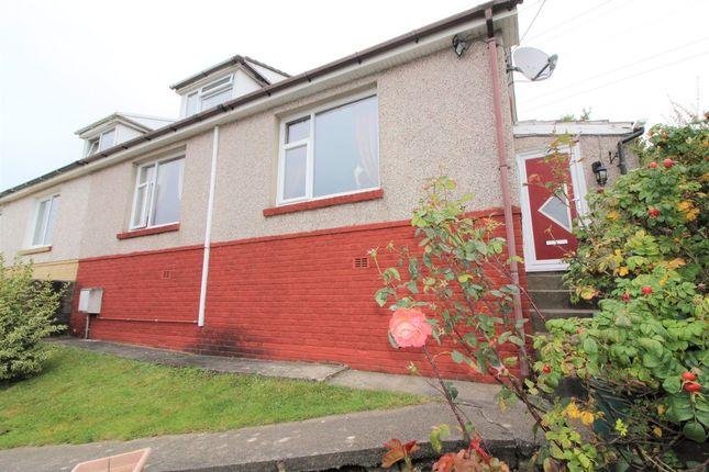Thumbnail Semi-detached bungalow for sale in Farm Road, Crumlin, Newport