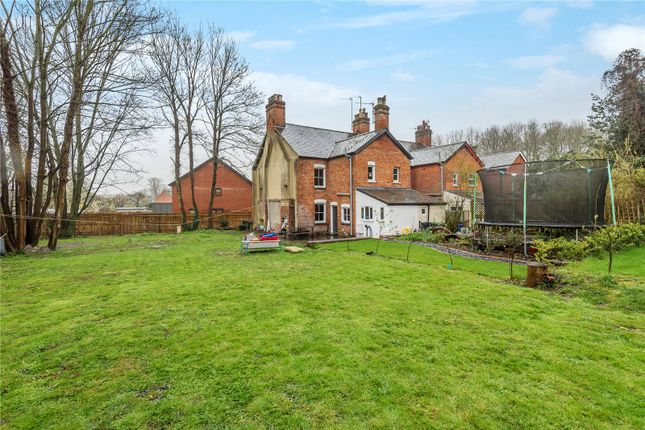 Thumbnail End terrace house for sale in Fairclose Terrace, Whitchurch, Hampshire