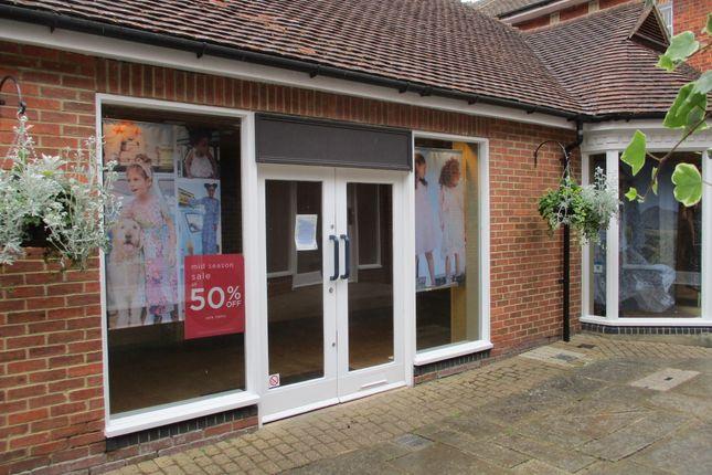 Thumbnail Retail premises to let in Hughenden Yard, Marlborough