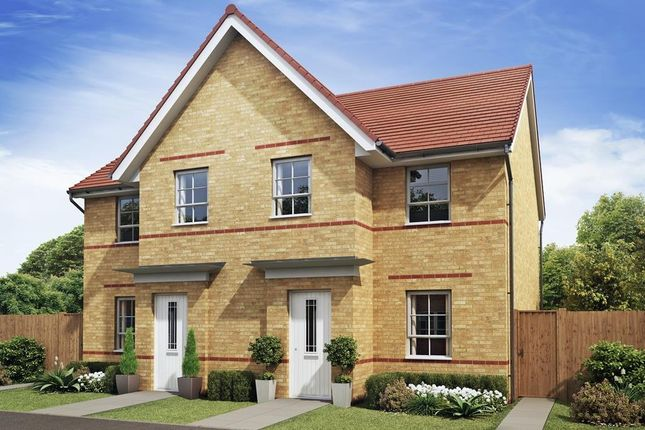 "3 bedroom semi-detached house for sale in ""Palmerston"" at The Ridge, London Road, Hampton Vale, Peterborough"