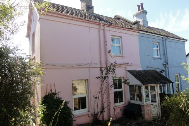 Thumbnail Semi-detached house for sale in Railway Cottages, St. Leonards-On-Sea, East Sussex