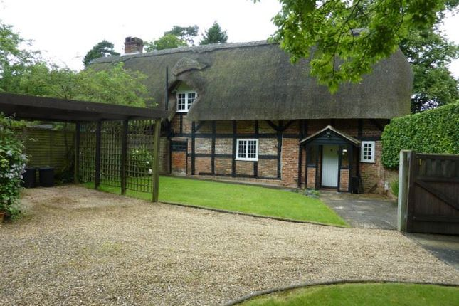 Thumbnail Cottage to rent in Lymington Road, Brockenhurst