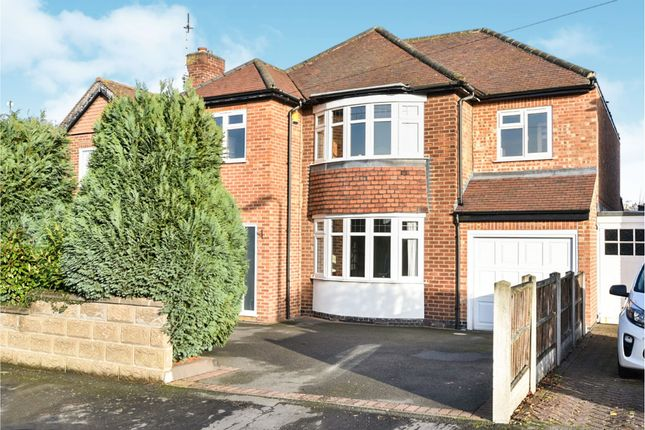 Thumbnail Detached house for sale in Walford Road, Rolleston-On-Dove, Burton-On-Trent