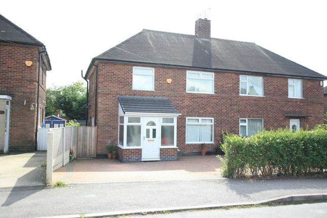 Thumbnail Semi-detached house to rent in Glenwood Avenue, Wollaton, Nottingham