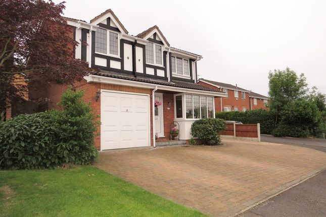Thumbnail Detached house for sale in Longcroft Close, New Tupton, Chesterfield